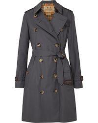 Burberry - The Kensington Cotton-gabardine Trench Coat - Lyst