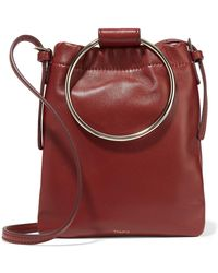 Theory - Post Leather Pouch - Lyst