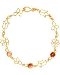 Pippa Small - 18-karat Gold Tourmaline Bracelet - Lyst