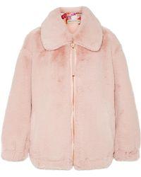 Emilio Pucci - Oversized Faux Fur Jacket - Lyst