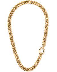 Laura Lombardi - Presa Gold-tone Necklace - Lyst