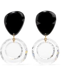 Isabel Marant - Gold-tone, Resin And Crystal Earrings - Lyst