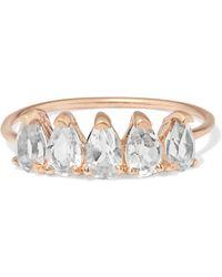3e9e3cd3d0d Loren Stewart - 10-karat Gold Topaz Ring - Lyst