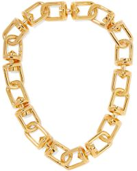 Eddie Borgo - Fame Gold-plated Necklace - Lyst