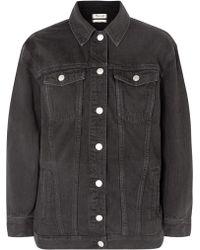 Madewell - The Oversized Denim Jacket - Lyst