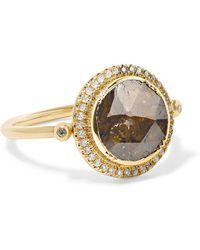 Brooke Gregson - Galaxy 18-karat Gold Diaond Ring - Lyst