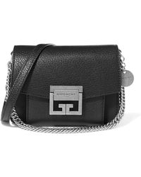 Givenchy - Gv3 Mini Textured-leather Shoulder Bag - Lyst