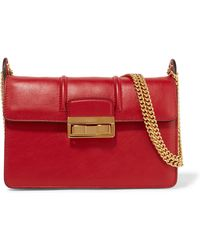Lanvin Jiji Small Leather Shoulder Bag Lyst