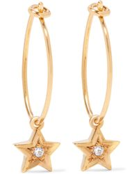Iam By Ileana Makri - Gold-plated Swarovski Crystal Earrings - Lyst