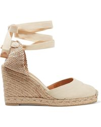Castaner - Carina 80 Canvas Wedge Espadrilles - Lyst