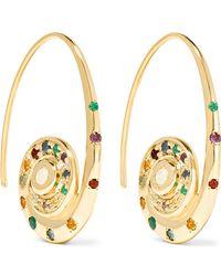 Venyx | Pharaonys 18-karat Gold Multi-stone Earrings | Lyst