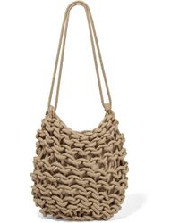 Alienina - Kati Woven Cotton Shoulder Bag - Lyst