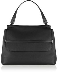 The Row - Textured-leather Tote - Lyst