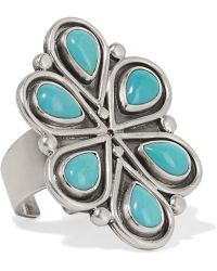 Chan Luu - Silver Turquoise Ring - Lyst