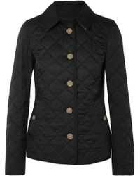 Burberry - Quilted Shell Jacket - Lyst