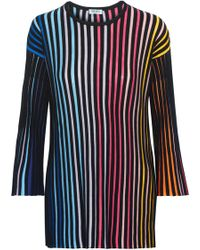 KENZO - Ribbed Cotton-blend Jumper - Lyst