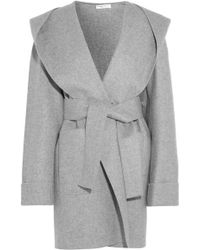 Barbara Casasola - Hooded Cashmere Coat - Lyst