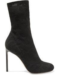 Francesco Russo - Open-knit Boots - Lyst