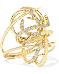 Gaelle Khouri - Tyche 18-karat Gold Diamond Ring - Lyst