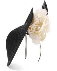 Philip Treacy - Sinamay Straw And Organza Headpiece - Lyst