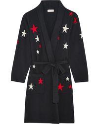 Chinti & Parker - Star-intarsia Cashmere Robe - Lyst