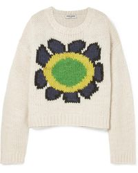 Opening Ceremony - Intarsia Wool-blend Sweater - Lyst