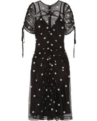 Alice McCALL - Garden Party Embroidered Tulle Midi Dress - Lyst