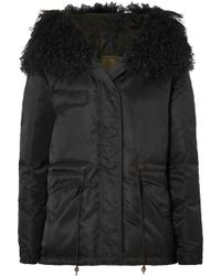 Mr & Mrs Italy - New York Shearling-trimmed Shell Down Jacket - Lyst
