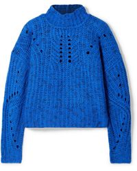 Isabel Marant - Jilly Merino Wool Turtleneck Jumper - Lyst