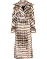 Emilia Wickstead - Elvira Houndstooth Tweed Coat - Lyst