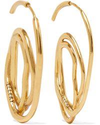 Ellery | Forbidden Fruit Gold-plated Earrings | Lyst
