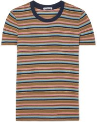 James Perse - Vintage Boy Striped Cotton-blend Jersey T-shirt - Lyst
