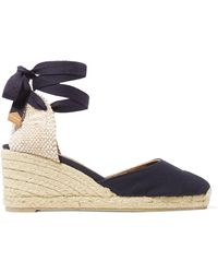 Castaner - Carina 60 Canvas Wedge Espadrilles - Lyst