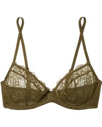 Les Girls, Les Boys - Daisy Lace Underwired Soft-cup Bra - Lyst