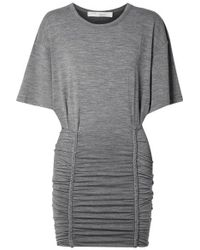 IRO - Fitted T-shirt Dress - Lyst
