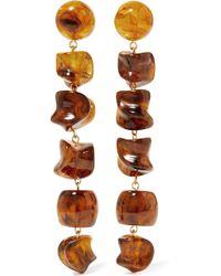 Cult Gaia - Leo Gold-tone Resin Earrings - Lyst