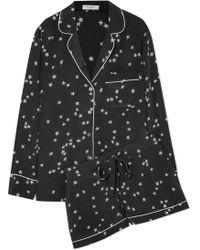 Equipment - 'lillian' Star Print Silk Pyjama Set - Lyst