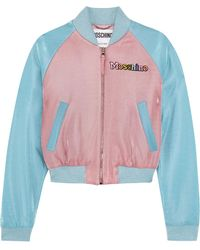 Moschino - + My Little Pony Appliquéd Lurex Bomber Jacket - Lyst