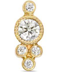Maria Tash - 18-karat Gold Diamond Earring - Lyst