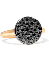 Pomellato - Sabbia 18-karat Rose Gold Diamond Ring - Lyst