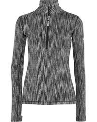 Nike - Hyperwarm Stretch-knit Top - Lyst