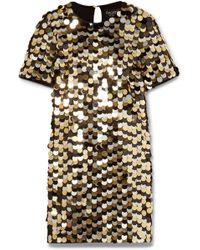 Rachel Zoe | Elsa Sequined Cotton-jersey Mini Dress | Lyst