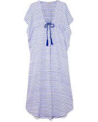 Jaline - Camilla Striped Cotton Maxi Dress - Lyst