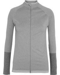 Falke - Running Stretch-jersey Jacket - Lyst