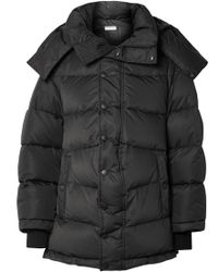 Balenciaga - Swing Oversized Embroidered Quilted Shell Down Jacket - Lyst