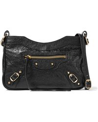 Balenciaga | Classic Hip Arena Textured-leather Shoulder Bag | Lyst