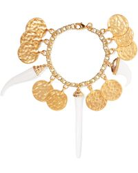Kenneth Jay Lane - Gold-plated And Resin Bracelet - Lyst