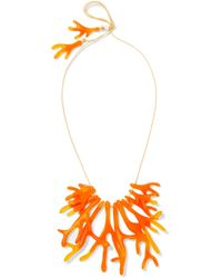 Dinosaur Designs - Coral Fan Resin Necklace - Lyst