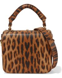 Sophie Hulme - Finsbury Small Leopard-print Leather Shoulder Bag - Lyst