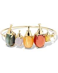 Daniela Villegas - Tribe 18-karat Gold Multi-stone Bracelet - Lyst